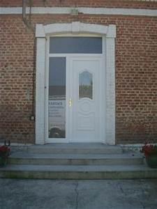 Porte D Entrée Tiercée : porte d 39 entr e tierc e en pvc avec panneau d coratif ~ Carolinahurricanesstore.com Idées de Décoration