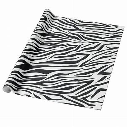 Paper Zebra Animal Wrapping Pattern Stripes Roll