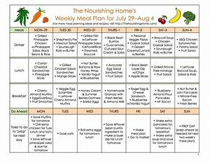 Bi weekly meal plan for july 22 august 4 the better mom for Two week meal plan template