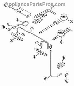 Parts For Jenn-air Svd48600w  Gas Controls Parts