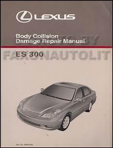2003 Lexus Es 300 Repair Shop Manual Original 2 Volume Set