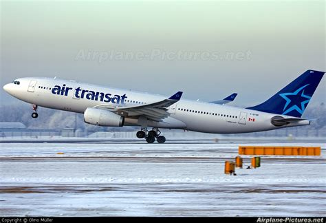 c gtsr air transat airbus a330 200 at manchester photo