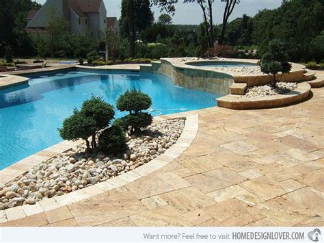 pool landscaping with rocks 20 best images about river rocks landscaping on pinterest river rocks backyards and side yards