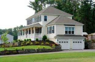 Smart Placement American Colonial House Ideas by 2200 Sq Ft Colonial With Two Car Garage 2