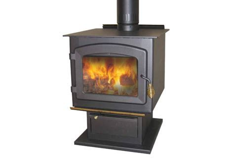 Drolet Myriad EPA Approved Wood Burning Pedestal Stove