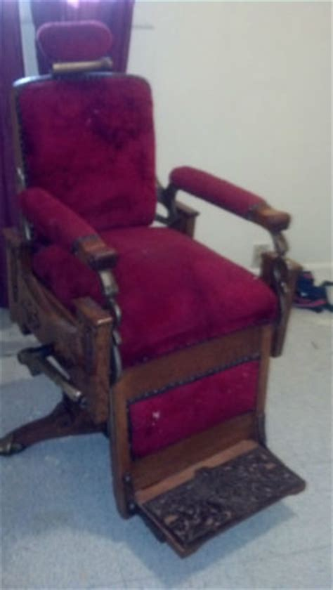 koken barber chairs by year early 1900 koken barber chair
