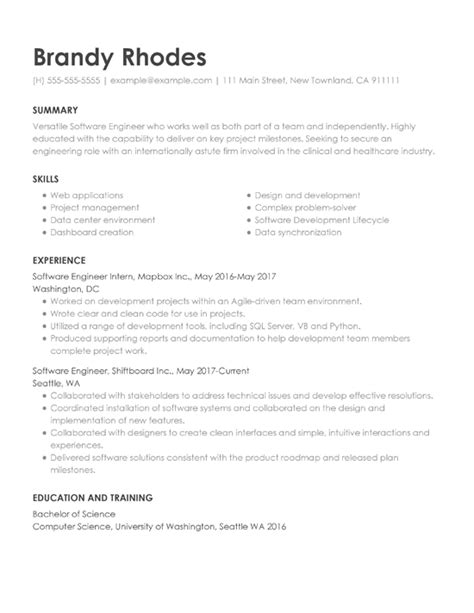 Build A Resume For Free by Free Resume Builder Build Your Resume Quickly With