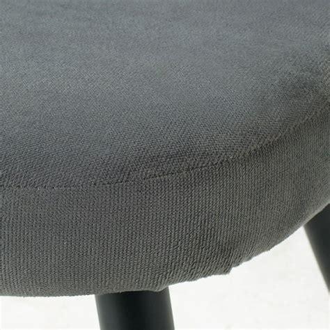 divanetto vintage divanetto vintage 3 posti in velluto grigio maurice