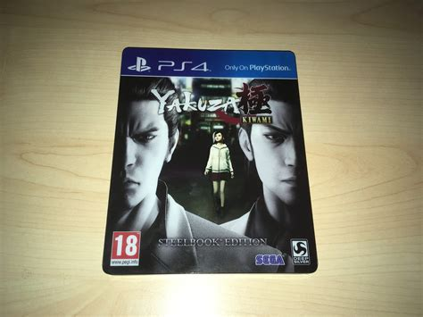 normanic vault unboxing uk yakuza kiwami