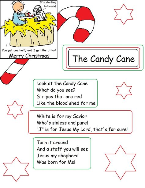 free sunday school lessons for preschool 604 | The Candy Cane Legend