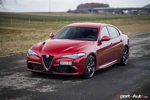Essai Alfa Romeo Giulia : essai alfa romeo giulia quadrifoglio sport ~ Medecine-chirurgie-esthetiques.com Avis de Voitures