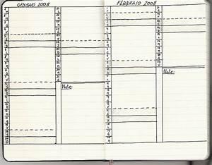 diy moleskine monthly calendar filofax midori and With moleskine calendar template