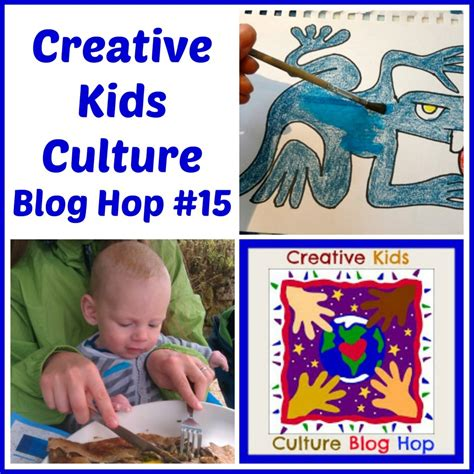Creative Kids Culture Blog Hop #15  All Done Monkey