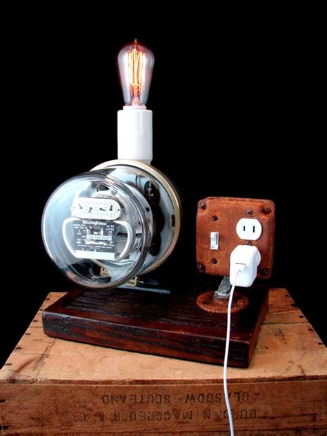 electric gas meter lamps images  pinterest