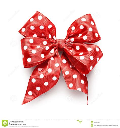 polka dot bow stock image image  knot element ideas