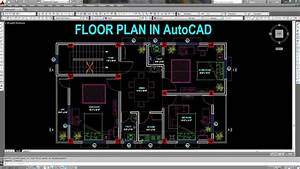 How To Draw Floor Plan In Autocad At Architectural Drawing