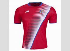 Costa Rica 201718 Home Shirt Soccer Jersey