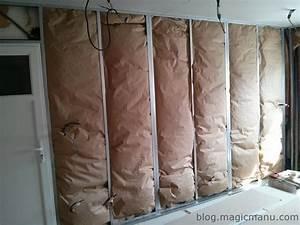Laine De Verre Phonique : isolation mur garage simple isolation mur parpaing images ~ Dailycaller-alerts.com Idées de Décoration