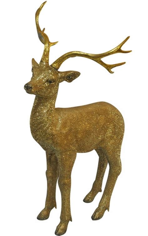gold deer statue medium only 149 99 at garden fun