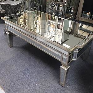 antique mirrored coffee table with storage house of sparkles With mirrored coffee table with storage