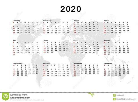 calendar agenda world map stock vector illustration