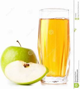 Glass Of Apple Juice And Green Apples Royalty Free Stock ...