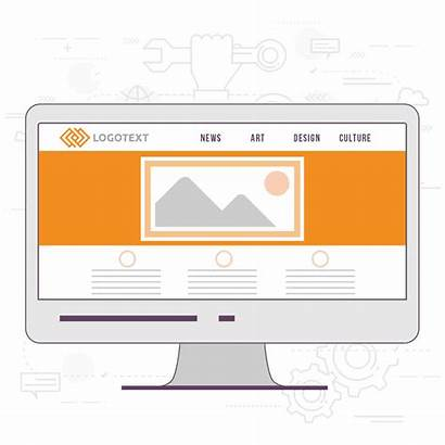 Website 99designs Farbe Elemente Effektiven Layouts Eines