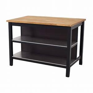 Ikea Stenstorp Wandregal : 55 off ikea ikea stenstorp wood chrome and black kitchen island tables ~ Orissabook.com Haus und Dekorationen