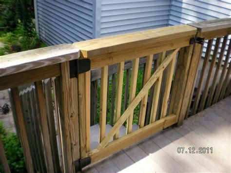 outdoor gate for deck stairs deck gates for dogs stairs into side yard for dogs 7227