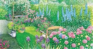 Schmale Bäume Für Kleine Gärten : gestaltungsideen f r lange schmale g rten mein sch ner garten ~ Whattoseeinmadrid.com Haus und Dekorationen