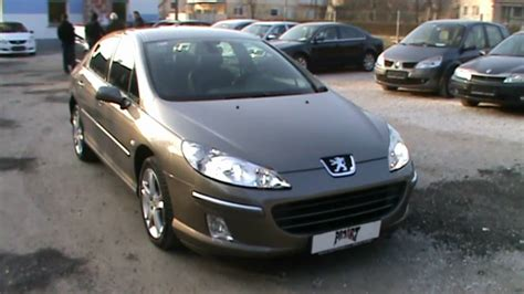 2004 Peugeot 407 2.2 I 16v Sport Automatic Review,start Up