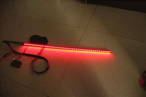 7 color 5050 led rider scanner lighting bar