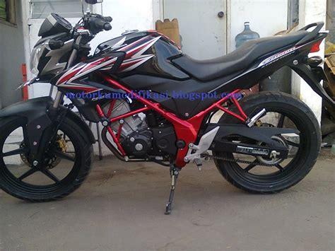 Modifikasi Honda Cb150 by Kumpulan Gambar Modifikasi Honda Cb 150 R Terbaru Dengan