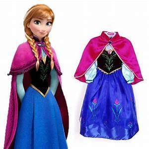 robe deguisement anna la reine des neiges achat vente With la reine des neiges robe
