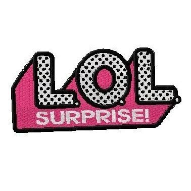 bordado personalizado logo boneca lol surprise