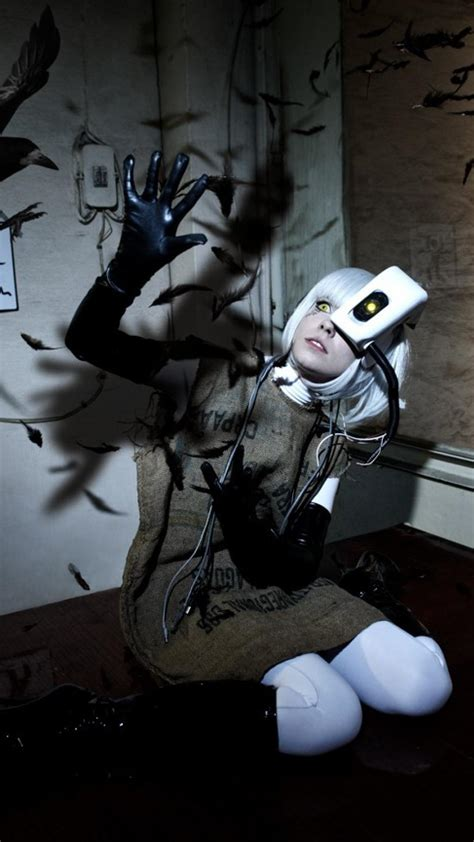 Cosplay Glados Portal 2 Wallpaper 11956