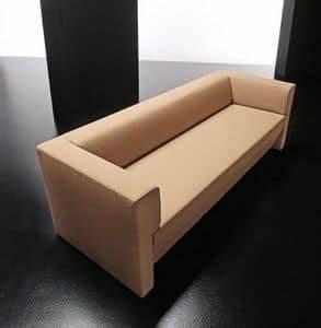 Sofa Mit Holzrahmen : 3 sitzer sofa f r warter ume und b ros idfdesign ~ Frokenaadalensverden.com Haus und Dekorationen