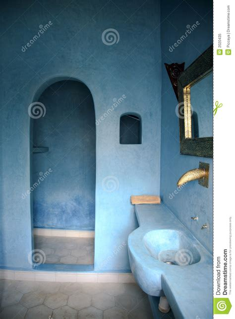 moroccan bathroom royalty  stock photo image