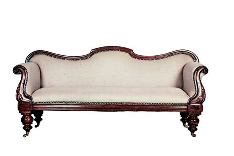 Antique Sofa *brand New Upholstery*
