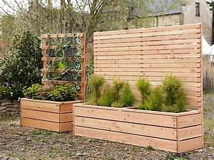 Sichtschutz Mit Pflanzkasten : sichtschutz mit pflanzkasten gro sichtschutz terrasse ~ Michelbontemps.com Haus und Dekorationen