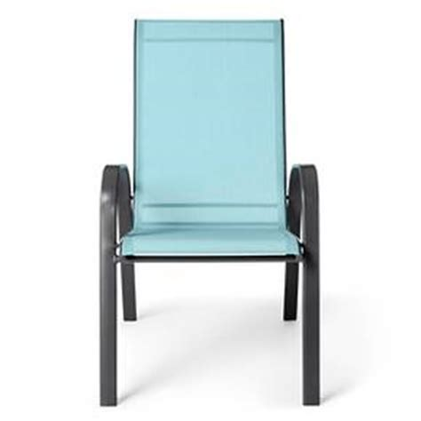 stack sling patio chair tan room essentials target