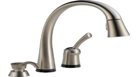 aqua touch kitchen faucet touch kitchen faucet delta 980tsddst pilar single handle