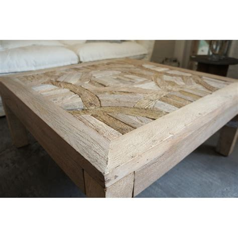 table basse bois recycle ezooq