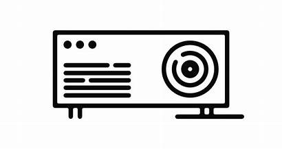Projector Icon Graphic Shutterstock