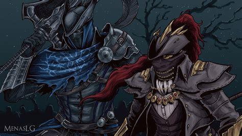 Soul Of Cinder Wallpaper Dark Souls Bloodborne Artorias And Ornstein By Menaslg On Deviantart