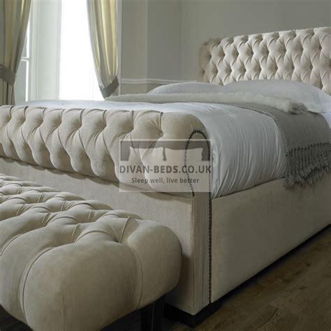 rosaline luxury fabric upholstered bed frame guaranteed