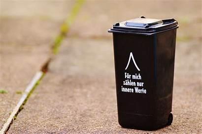 Funny Garbage Dustbin Saying Trash Bucket Ton