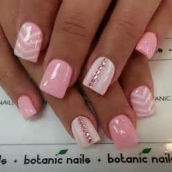 Cute pink acrylic nail designs how you can do it at home