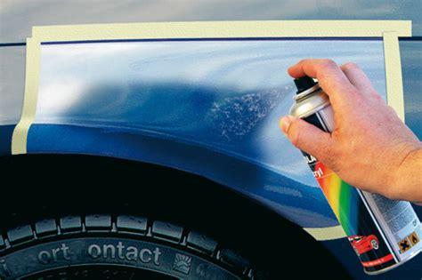 retouches de la peinture entretien auto la protection antirouille de la carrosserie