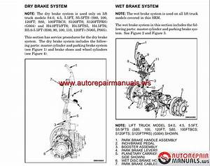 Hyster Forklift H4 0 Shop Manual